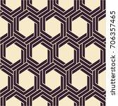 vector seamless texture. modern ... | Shutterstock .eps vector #706357465