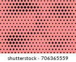 abstract halftone dotted grunge ... | Shutterstock .eps vector #706365559