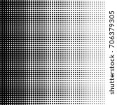 halftone pattern background... | Shutterstock .eps vector #706379305