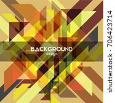 abstract background with... | Shutterstock .eps vector #706423714