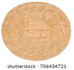 bamboo serving tray mat... | Shutterstock . vector #706434721