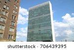 new york city  circa 2017 ... | Shutterstock . vector #706439395
