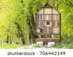 Man Made Insect Hotel In A...
