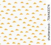 seamless minimalistic pattern... | Shutterstock .eps vector #706463374