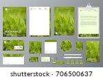 corporate branding identity...   Shutterstock .eps vector #706500637