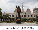 ho chi minh city  vietnam  ... | Shutterstock . vector #706509409