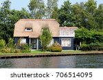 Beuatiful Dutch House  Thatche...