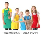 group of children on white... | Shutterstock . vector #706514794