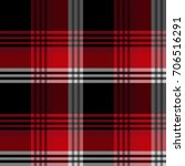 seamless tartan plaid pattern.... | Shutterstock .eps vector #706516291