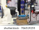 close up workpieces set up tee... | Shutterstock . vector #706519255