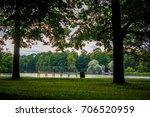 summer park  | Shutterstock . vector #706520959