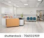 interior design of the hostel... | Shutterstock . vector #706531909