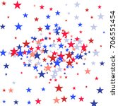 background with red and blue... | Shutterstock .eps vector #706551454
