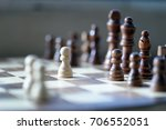 chess board  | Shutterstock . vector #706552051