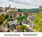 View of Luxembourg City, Luxembourg