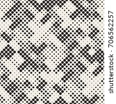 modern stylish halftone texture.... | Shutterstock .eps vector #706562257