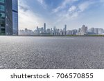 panoramic skyline and buildings ... | Shutterstock . vector #706570855