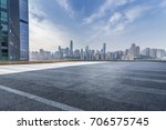 panoramic skyline and buildings ... | Shutterstock . vector #706575745
