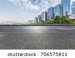panoramic skyline and buildings ... | Shutterstock . vector #706575811
