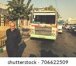 tehran  iran   october 2016 ...   Shutterstock . vector #706622509