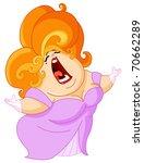 opera singer | Shutterstock .eps vector #70662289