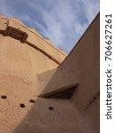 Small photo of Clay castle in Saudi Arabia / loam architecture