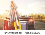 autumn expedition on a...   Shutterstock . vector #706686607