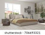 inspiration of white minimalist ... | Shutterstock . vector #706693321