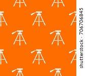 tripod pattern repeat seamless...   Shutterstock .eps vector #706706845