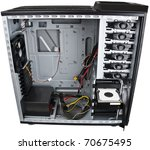 Computer Case Interior With...