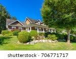 luxury house in vancouver ...   Shutterstock . vector #706771717