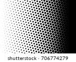 halftone fade gradient... | Shutterstock .eps vector #706774279