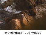 beautiful cliffs with a sea...   Shutterstock . vector #706798399