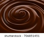 chocolate.3d illustration | Shutterstock . vector #706851451