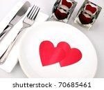 Inviting Table For Romantic Meal