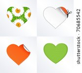 4 Hearts In Different Kinds ...
