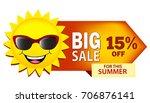big sale summer sale... | Shutterstock . vector #706876141