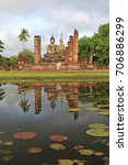 Small photo of Sukhothai - Thailand (City History, Old temple ,temple anc Old Buddha)
