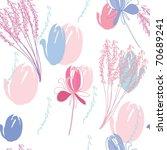 floral seamless pattern   Shutterstock .eps vector #70689241