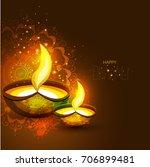 vector illustration or greeting ... | Shutterstock .eps vector #706899481
