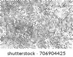 halftone radial black and white.... | Shutterstock . vector #706904425