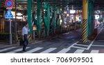 tokyo  japan   30th august ... | Shutterstock . vector #706909501