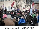 milan  italy   february 06 ... | Shutterstock . vector #70691206