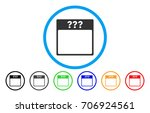 unknown calendar page vector...   Shutterstock .eps vector #706924561
