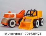tractor toys | Shutterstock . vector #706925425