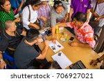 chanthaburi  thailand oct 15 ... | Shutterstock . vector #706927021