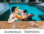 the family having fun together... | Shutterstock . vector #706943431