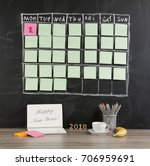 new year's concept  grid... | Shutterstock . vector #706959691