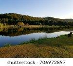 fishing lake.   Shutterstock . vector #706972897