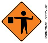 Us Warning Traffic Sign ...